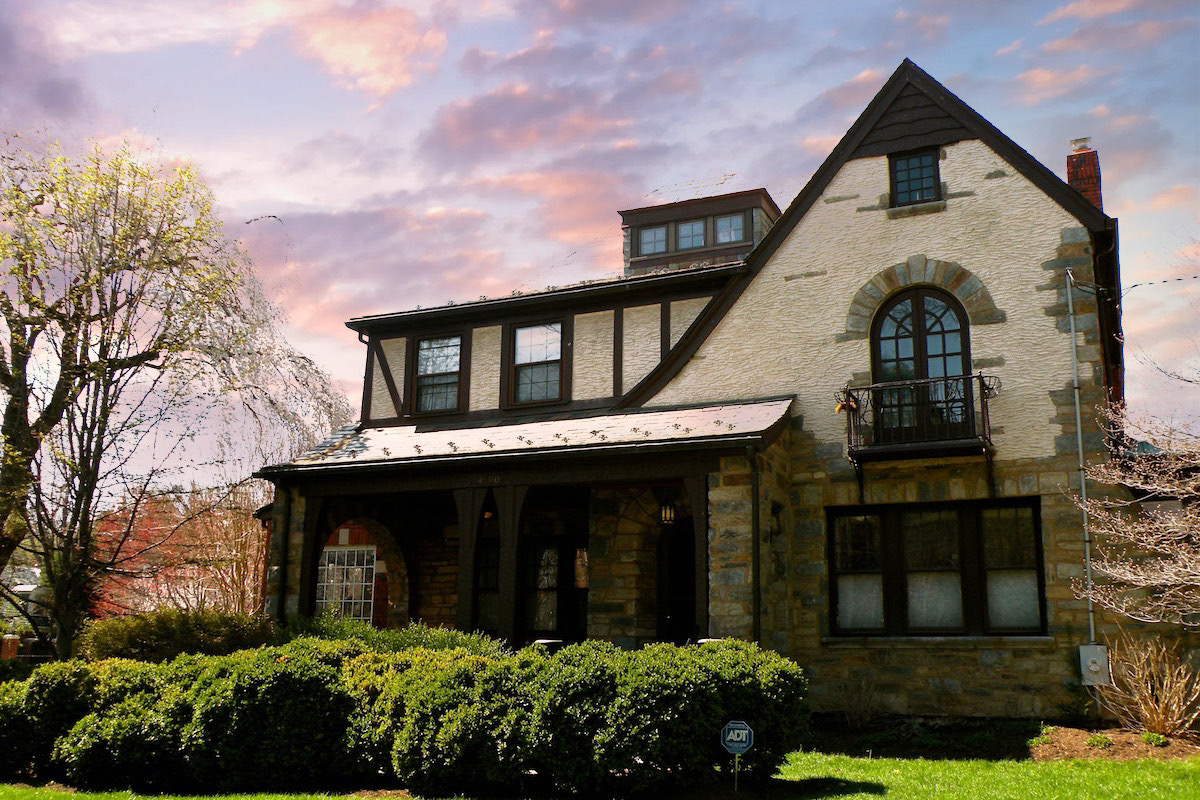 Chevy Chase DC Home - Tudor Revival