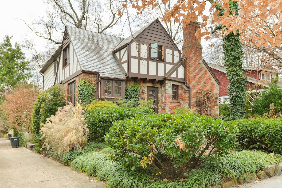 Chevy Chase DC Tudor Style Home