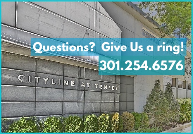 Questions About Cityline Condos?  Contact The Koitz Group - 301.254.6576