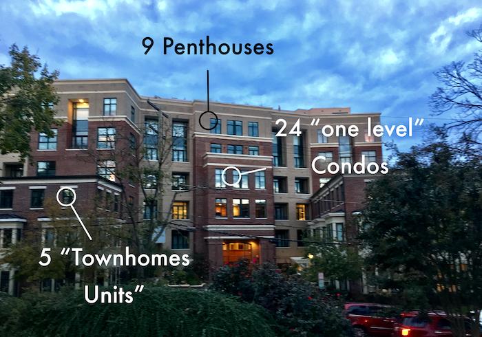 Tenley Hill Condominiums in NW DC