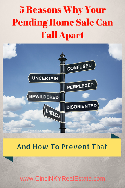5 reasons why your home pending sale can fall apart and how to prevent that