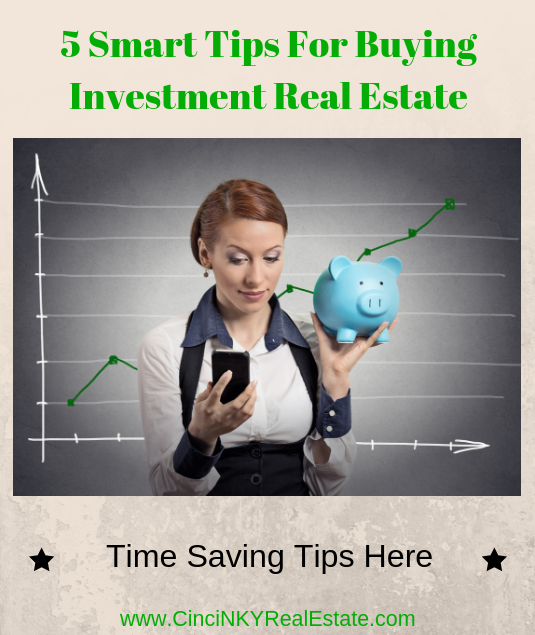 5 smart tips for buying investment real estate
