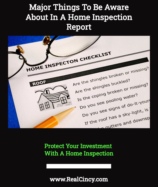 Major Things To Be aware About In A Home Inspection Report