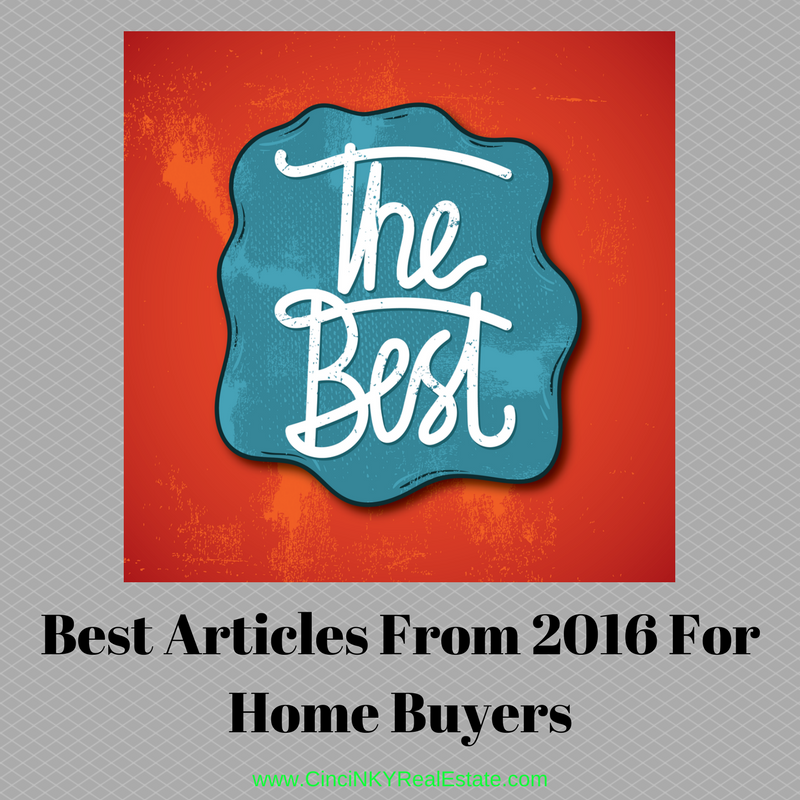 best articles from 2016 for home buyers