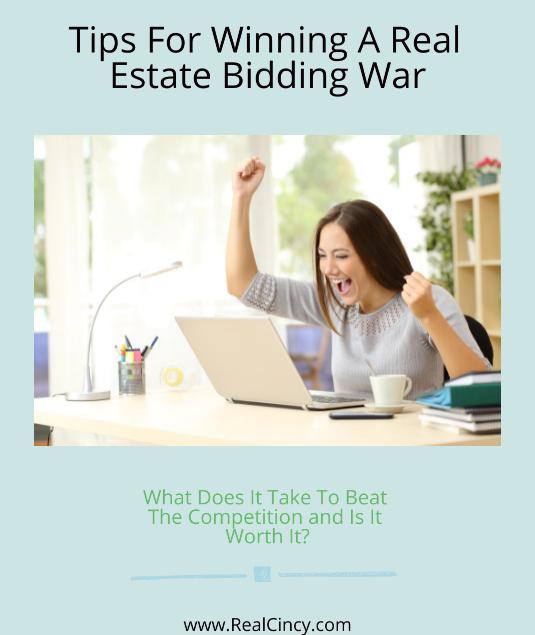 tips for winning a bidding war for a home