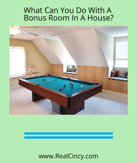 What Should You Do With A Bonus Room In A House?