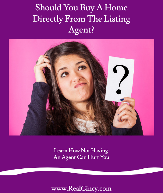 Should You Buy A Home Directly From The Listing Agent?