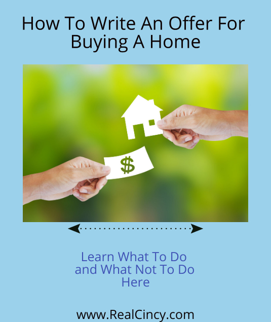 How To Write An Offer To Buy A Home
