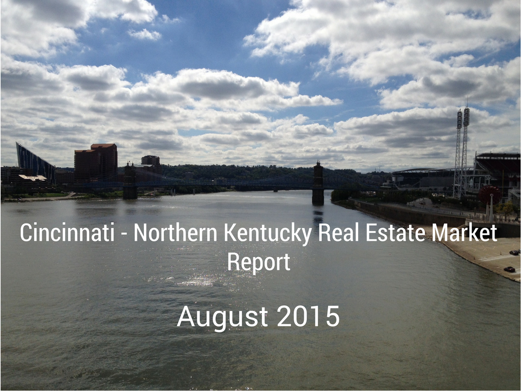 Picture of Ohio river for cincinnati real estate market report