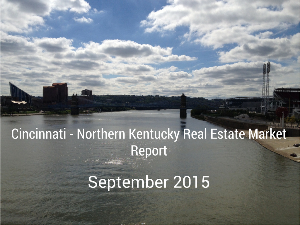 September 2015 Greater Cincinnati Real Estate Market Report Infographic