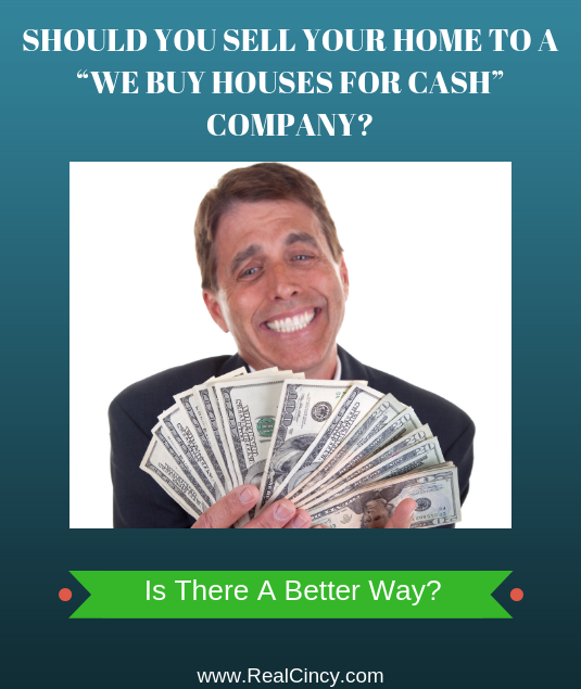 should you sell your house through a cash for house offer