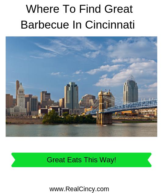 where to find great barbecue in cincinnati ohio