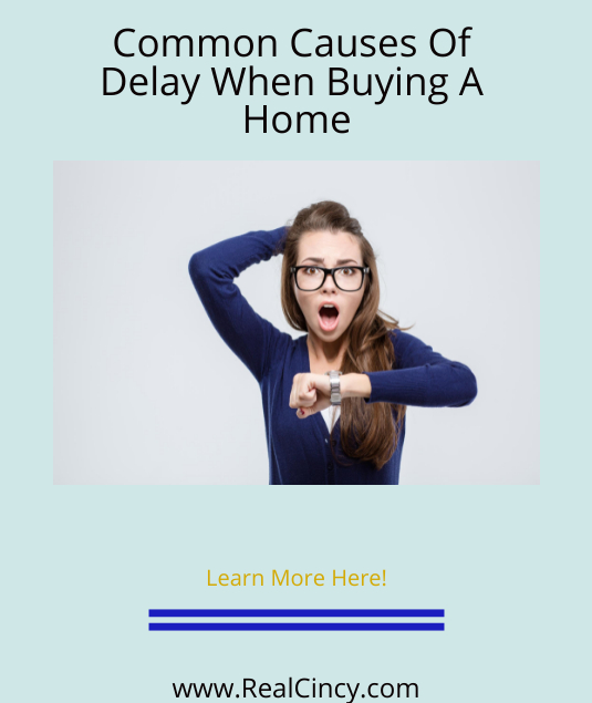 common causes of closing delays