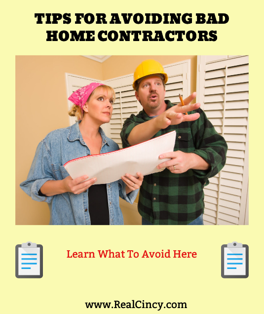 tips for avoiding bad contractors