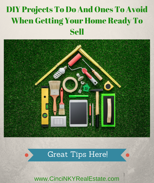 diy projects to tackle when getting a home ready for sale