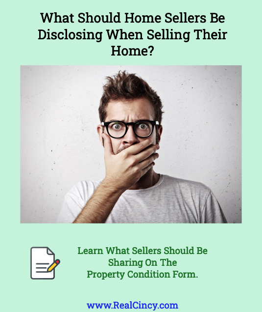 What Should Home Sellers Be Disclosing When Selling Their Home?