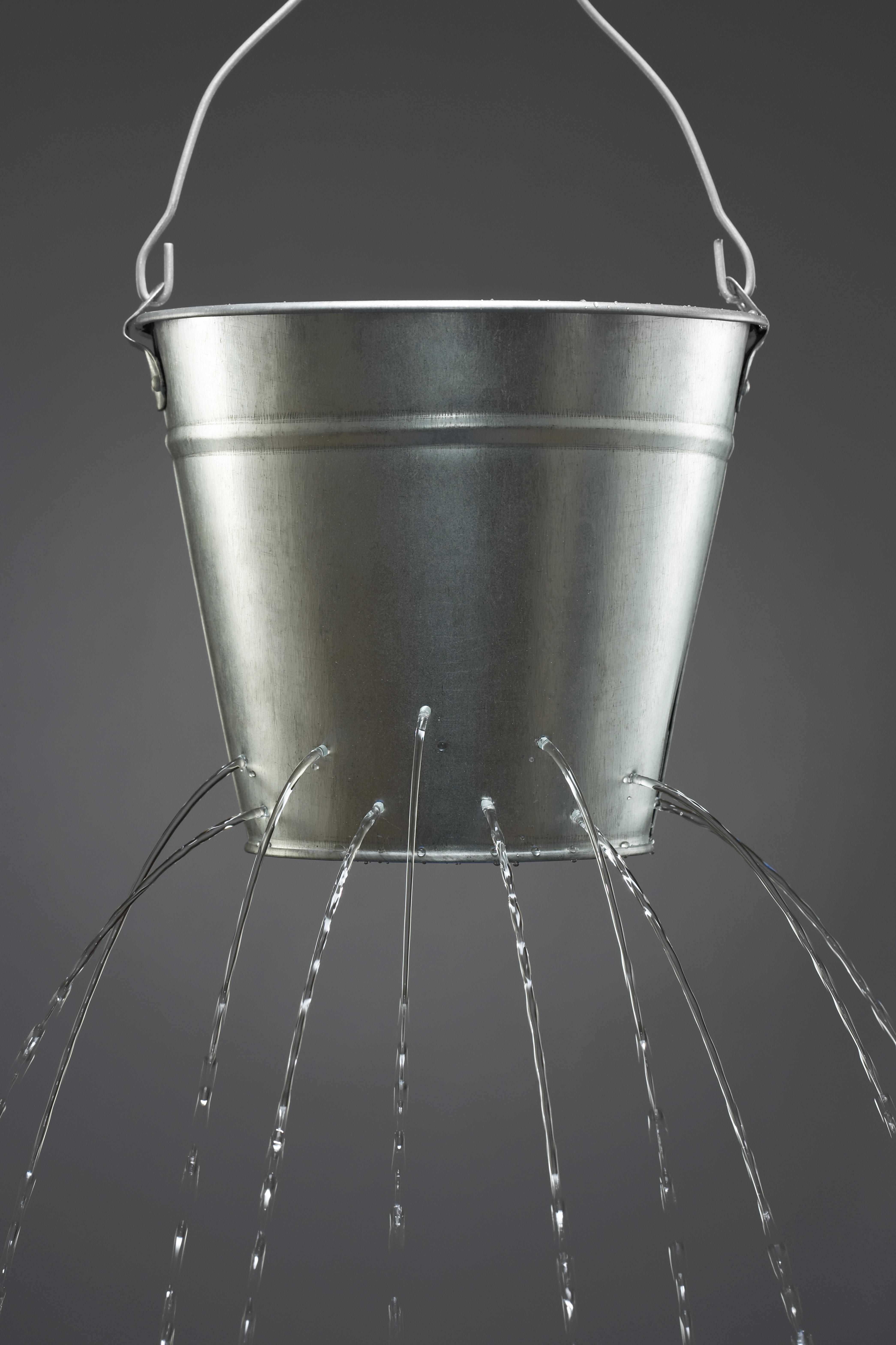 draining bucket