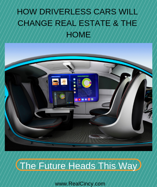 HOW DRIVERLESS CARS WILL CHANGE REAL ESTATE & THE HOME