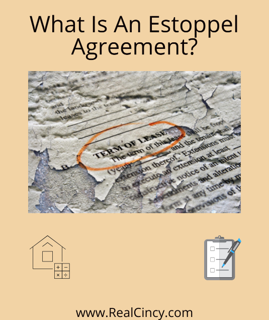 what is an estoppel agreement