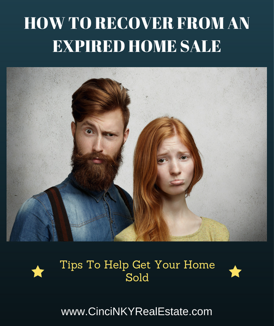 how to recover from an expired home sale