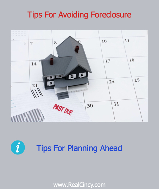 Tips For Avoiding Foreclosure
