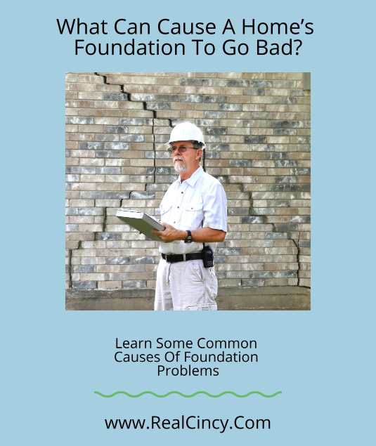 What Can Cause A Foundation To Go Bad?