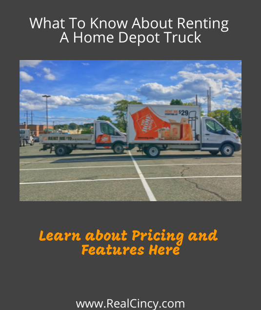 home depot truck rental article graphic