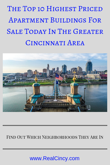 highest priced apartments in Greater Cincinnati