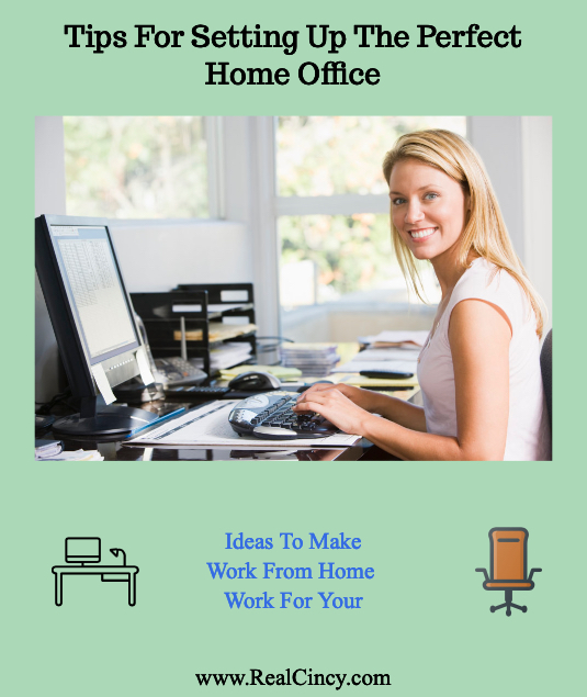 Tips For Setting Up The Perfect Home Office