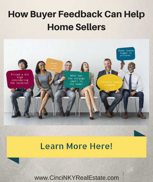 how buyer feedback can help home sellers