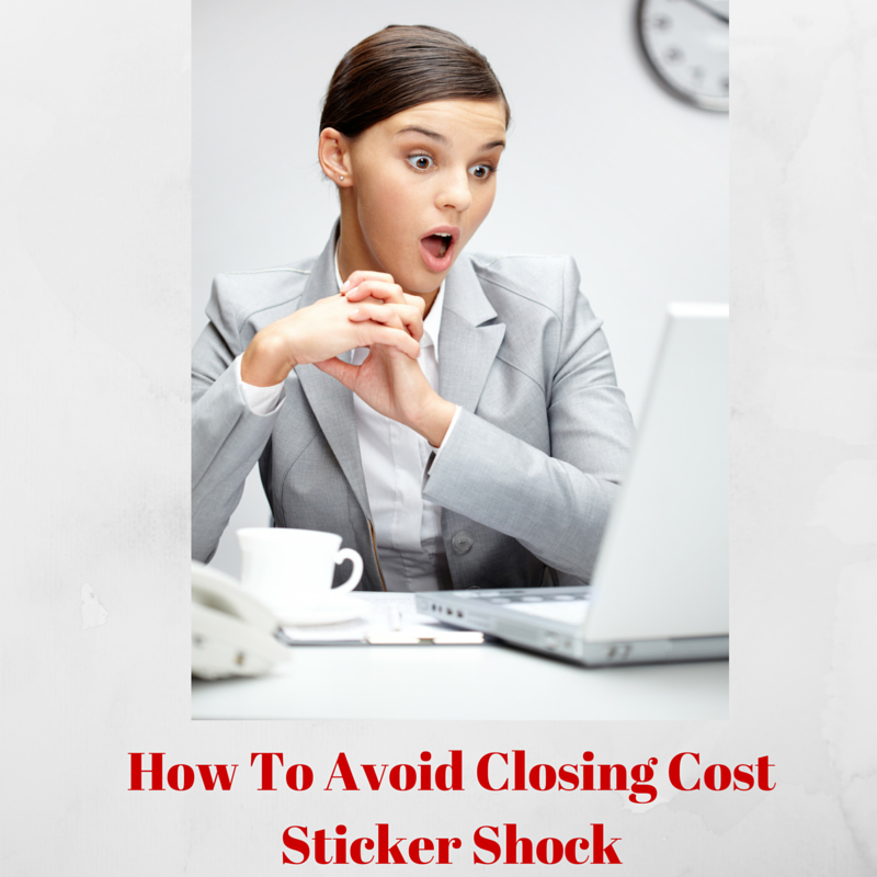 AVOID CLOSING STICKER SHOCK