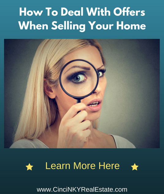 how to deal with offers when selling your home