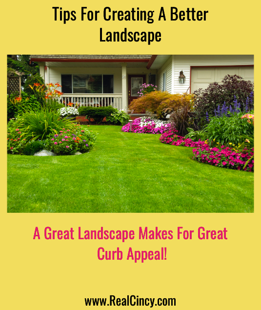 tips for creating a better landscape for your house