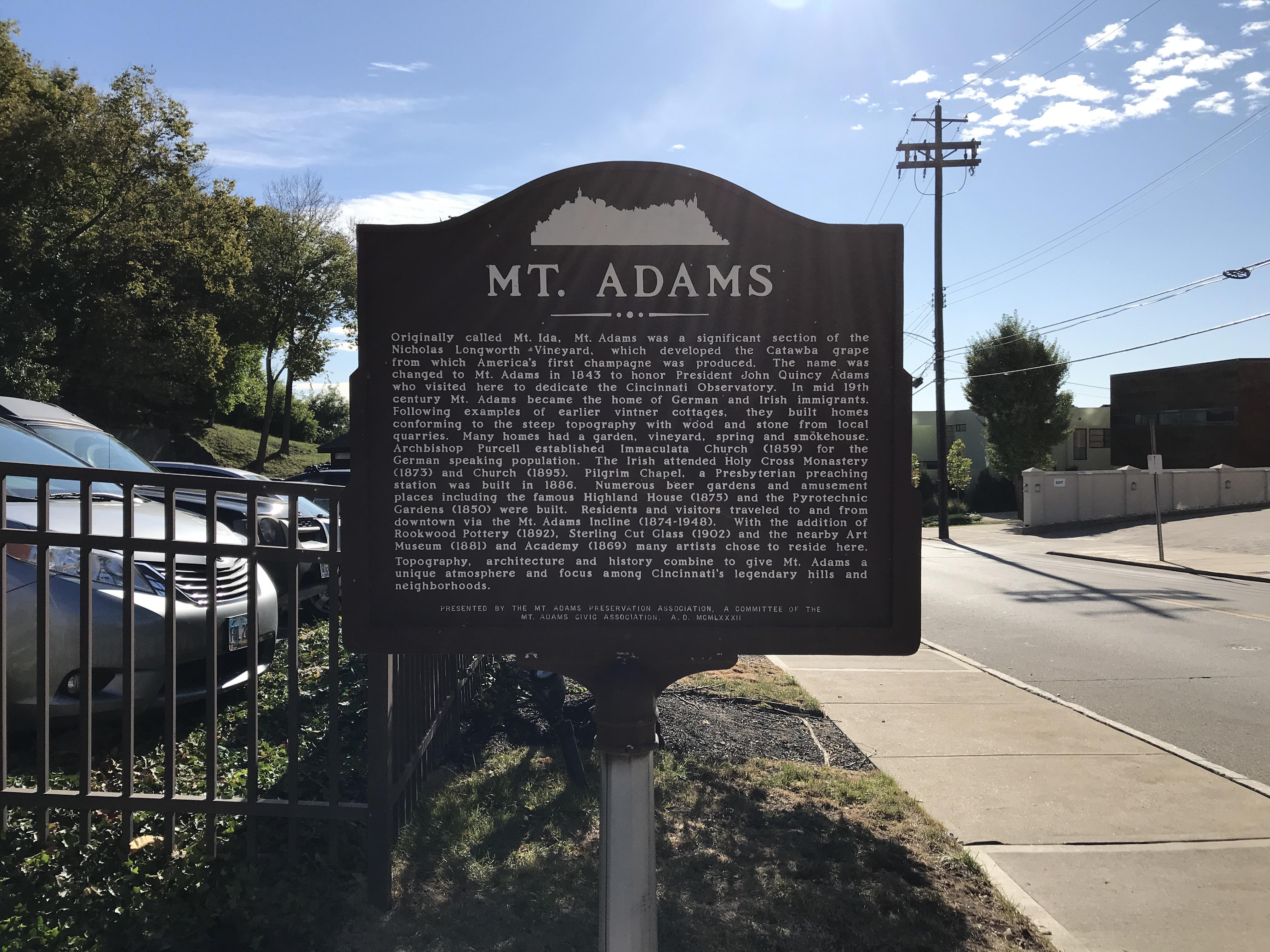 mount adams info