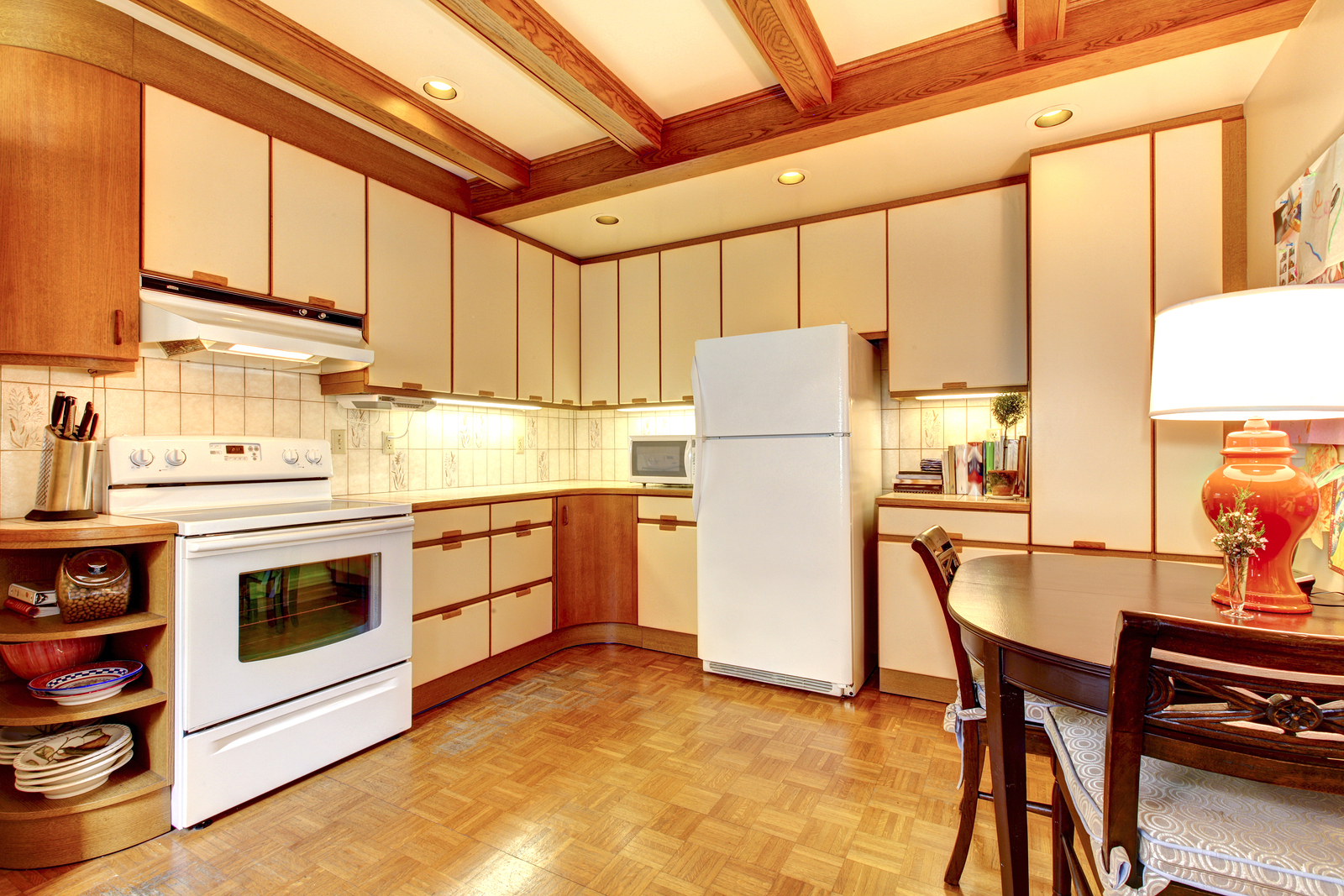 older outdated kitchen example