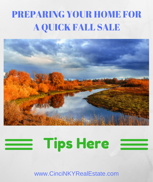 preparing your home for a quick fall sale