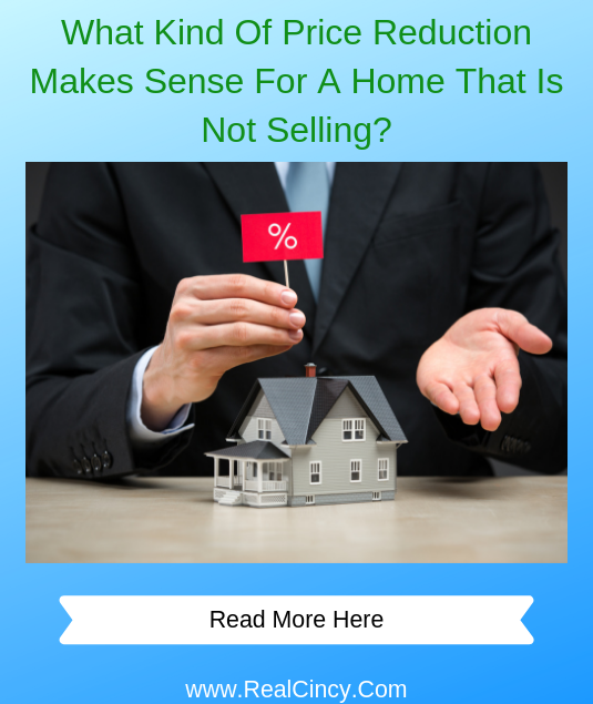What Kind Of Price Reduction Makes Sense For A Home That Is Not Selling?