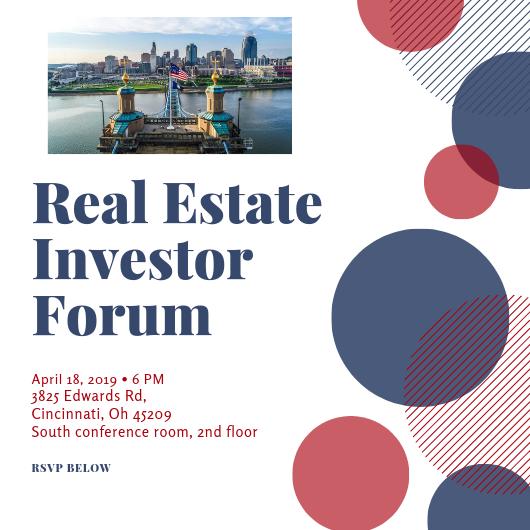Cincinnati Real Estate Investors Forum