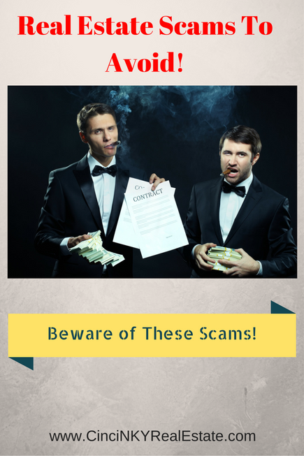 slick businessmen in suit real estate scams to avoid