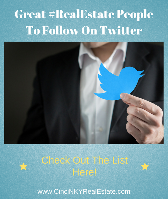great real estate accounts to follow on twitter