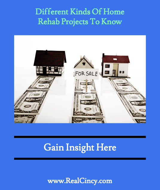 Different Kinds Of Home Rehab Projects