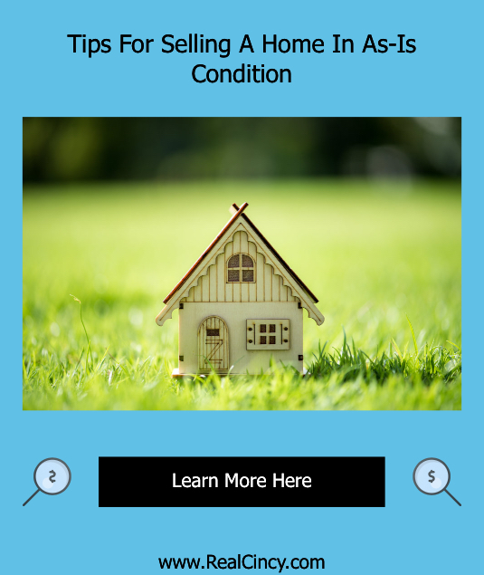 Tips For Selling A Home In As-Is Condition