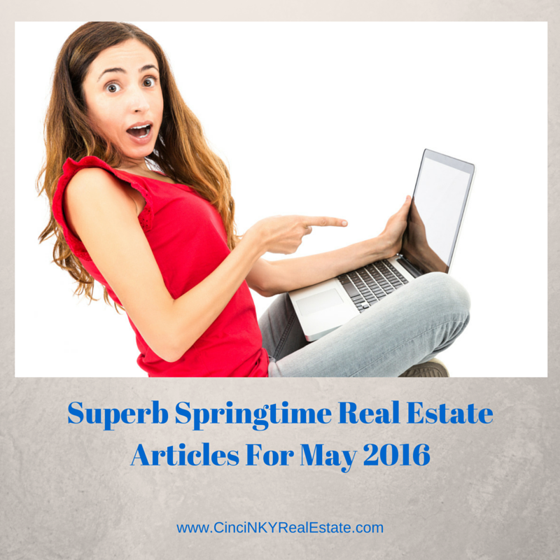 picture of lady with laptop for superb real estate articles