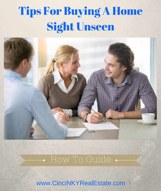 tips for buying a home sight unseen