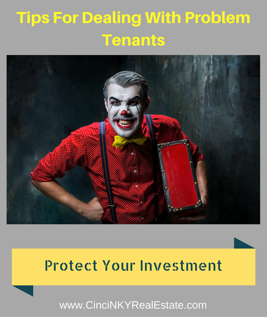 tips for dealing with problem tenants