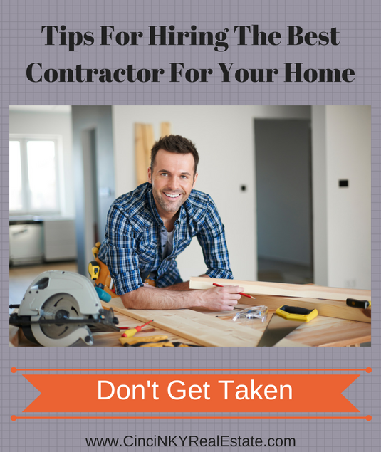 tips for picking the right contractor for your home