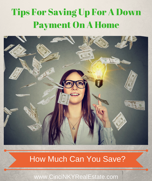 tips for saving for a house down payment