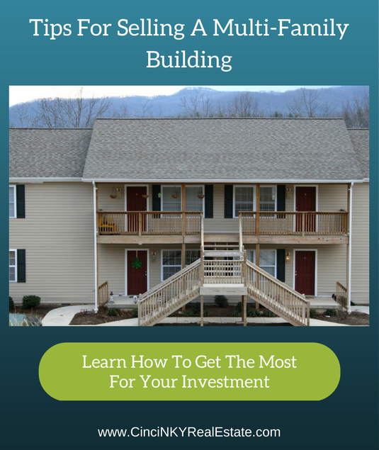tips for selling a multi-family building