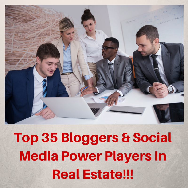 Picture of people Working together top social media real estate agents