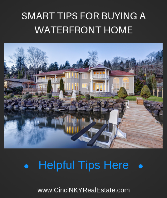 smart tips for buying a water front home